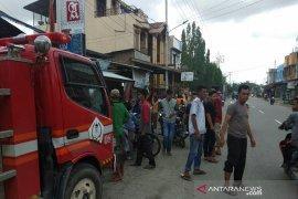 Warung kopi di Aceh Utara nyaris ludes diamuk api