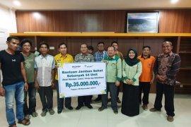 PT Antam berikan bantuan pembangunan jamban di empat desa
