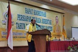 Jelang Pilkada, Golkar Banten panaskan mesin partai di empat daerah
