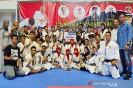Aceh Tengah juara Kejurnas Kempo antar kabupaten/kota di Banda Aceh
