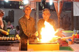 Event kuliner Lalang Waya daya tarik wisata Lampung