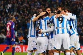 Liga Spanyol, Sociedad lumat Eibar, Betis raih tiga poin dari Mallorca