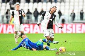 Juventus ditahan imbang Sassuolo
