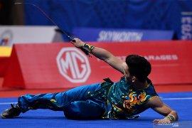 SEA Games 2019, Harris masih berpeluang raih medali wushu nomor Nandao/Nangun