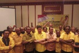 Golkar Papua deklarasi dukung Airlangga Hartarto