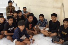 Patroli gabungan Denpasar  tangkap 13 anggota geng motor