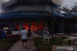 Lapas Wanita Tanjung Gusta Medan terbakar