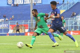 Liga 1: Arema FC hanya seri lawan Kalteng Putra