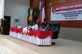 Delapan fraksi DPRD setujui penetapan APBD Maluku 2020