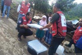 PMI salurkan bantuan untuk korban banjir bandang di Sumbar