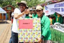 Wabup Banjar outbond bersama ratusan pegawai