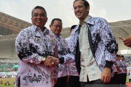 Wali Kota terima penghargaan Dwija Praja Nugraha