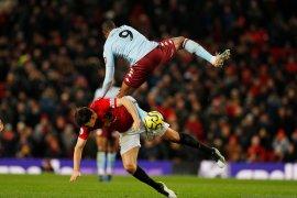 Liga Inggris, Manchester United ditahan imbang Aston Villa di Old Trafford