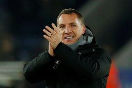 Pelatih Leicester Brendan Rodgers bisa saja bergabung ke Arsenal