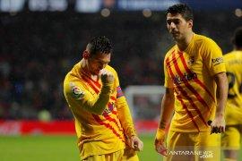 Liga Spanyol, Klasemen sementara Barcelona tetap di puncak dibayangi Real Madrid