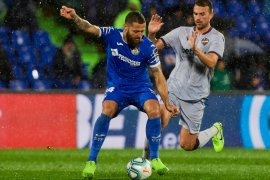 Liga Spanyol, Getafe lumat Levante empat gol tanpa balas