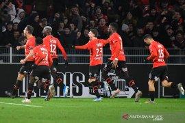 Gol menit terakhir bawa Rennes menang atas Saint-Etienne