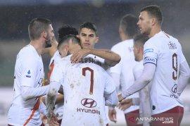 Liga Italia, Roma masuk empat besar klasemen setelah taklukkan Verona