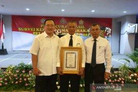 Polres Padangsidimpuan juara 3  survei kepuasan masyarakat Baintelkam Polri