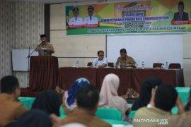 Arwin Siregar pimpin rapat ketahanan pangan Padangsidimpuan