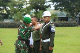 Seorang prajurit TNI dipecat karena  terlibat narkoba