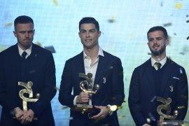 Cristiano Ronaldo dinobatkan sebagai pemain terbaik Liga Italia