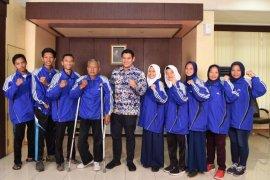 Wali Kota Kediri apresiasi prestasi atlet disabilitas