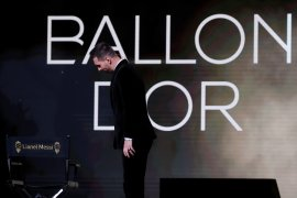 Lionel Messi raih Ballon d'Or keenam