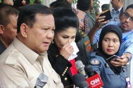 Ledakan di Monas, Prabowo: Tunggu hasil penyelidikan