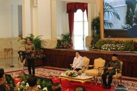 """Jokowi: titip Pancasila ke """"sobat ambyar"""""""