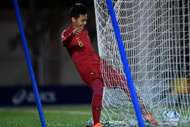 Pemain tim nasional U-22 Witan Sulaeman tak masalah dibangkucadangkan Indra Sjafri