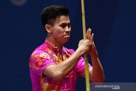SEA Games 2019, penuhi target medali emas, Indonesia juara umum wushu Taolu
