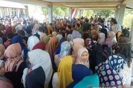Seluruh peserta tes CPNS Nagan Raya dites urine
