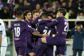 Fiorentina taklukkan  Citadella meski akhiri laga dengan sepuluh pemain