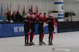 Indonesia tambah tiga medali ice skating