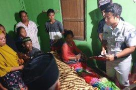 PT. Jasa Raharja Maluku santuni korban laka lantas