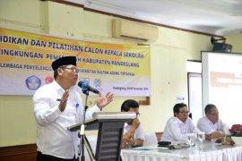 93 calon kepala SD dan SMP di Pandeglang Ikuti Diklat