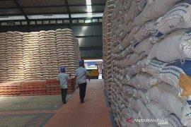 Beras di gudang Bulog Cirebon butuh penyaluran