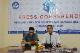 UBB gelar konferensi pers pemilihan rektor baru