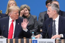 Trump minta NATO agar lebih berperan di Timur Tengah