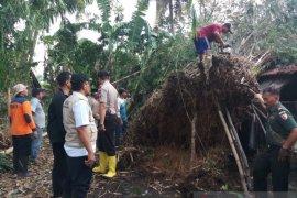 Akibat bencana angin puting beliung,  satu orang terluka di Jember
