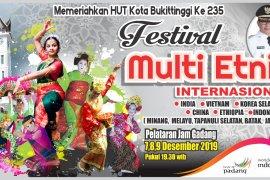 12 etnis dalam dan luar negeri akan isi Festival Multietnis di Bukittinggi