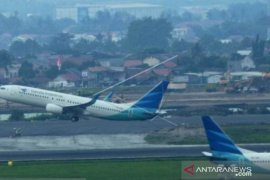 Penumpang angkutan udara di Babel naik 16,47 persen pada Oktober