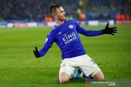 Liga Inggris, Leicester teruskan tren positif usai bungkam Watford