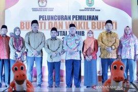 KPU Kutim luncurkan maskot Pilkada 2020