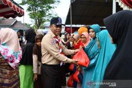 Pramuka Gorontalo Utara programkan bedah rumah