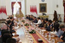 Presiden harap pengusaha AS optimalkan berbisnis di RI