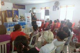 Pengungsi korban gempa Ambon berbagi kisah KDRT di Kampanye 16 HAKTP