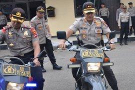 Polres Tapin cek kendaraan patroli jelang Operasi Lilin