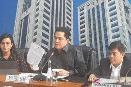 Erick Thohir copot Dirut Garuda Indonesia